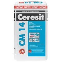Церезит Ceresit СМ 14 Extra Клей для плитки и керамогранита 25 кг