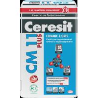 Церезит СМ-11 Plus Клей для плитки и керамогранита 25 кг