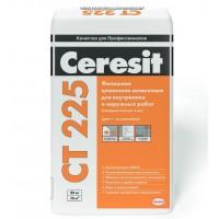 Церезит Ceresit CT 225 Фасадная финишная шпаклевка Белая 25кг