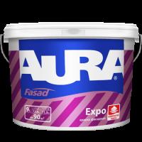 Краска матовая для фасадов AURA Fasad Expo 15 л