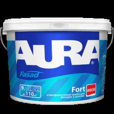 Краска AURA Fasad Fort 9л