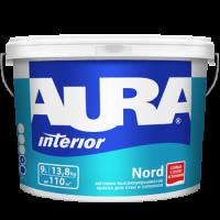 Краска матовая высокоукрывистая AURA Nord 15 л