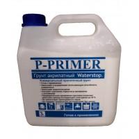 Грунт акрилатный Waterstop P-PRIMER (готовый)  3 л